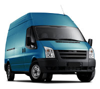 Van hire to Europe