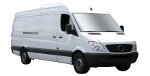 Extra Long Wheel Base Vans - Mercedes Sprinter XLWB or Ford Transit Jumbo