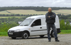 Vauxhall Combo with 500,000 mile