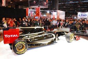 Lotus F1 car at Autosport International
