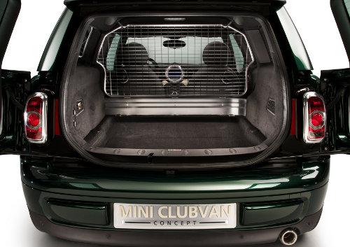 MINI Clubvan load area