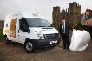 Ford Transit and Swans of Wells
