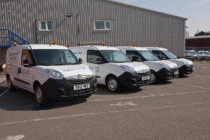 Water Company Chooses Vauxhall Combo Fleet Vanrental Co Uk Blog