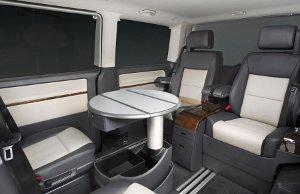 Volkswagen Caravelle Business interior