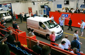 BCA Commercial vehicle auction