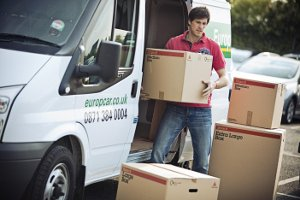 Europcar van hire moving house