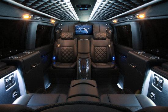 Carisma Mercedes Viano interior