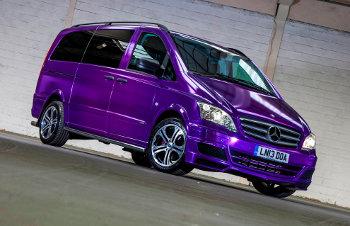 Mr Raja's customised Mercedes-Benz Vito Sport X