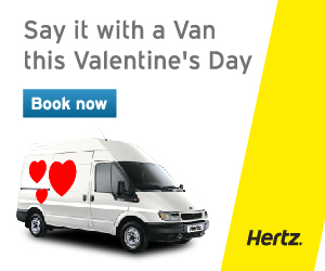 Hire A Van Before Valentine S Day From Just 15 Per Day Vanrental