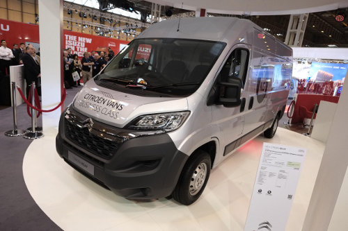 The new Citroen Relay at the CV Show