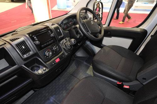Citroen Relay inside cab