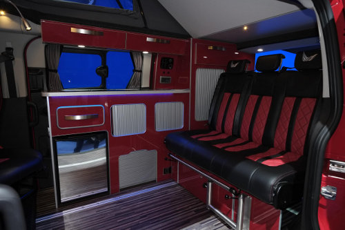in pictures van highlights from the cv show 2014 blog. Black Bedroom Furniture Sets. Home Design Ideas