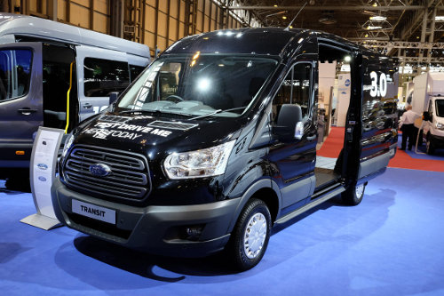 New Ford Transit at CV Show