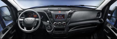 New Iveco Daily cab interior