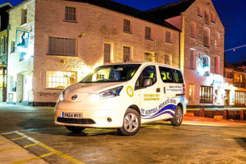 C&C Taxis Nissan e-NV200 Combi
