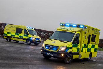 SECAmb Mercedes-Benz Ambulance and training vehicle