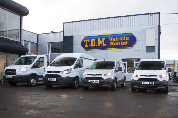 T.O.M. Vehicle Rental Ford vans