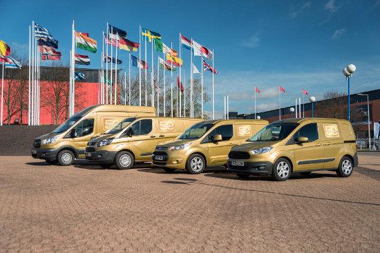 Ford Transit Golden Convoy