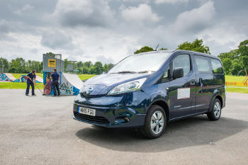 Solihull Council Nissan e-NV200 Combi