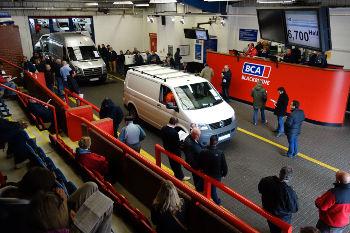 BCA van auction (courtesy of BCA)