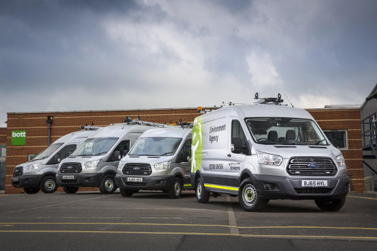 Environment Agency Ford Transit AWD