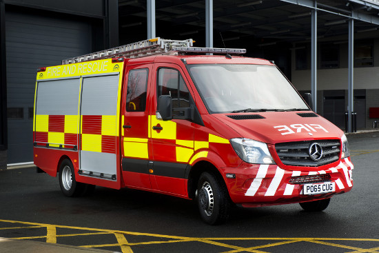 Could New Sprinter Fire Engine Extinguish Costs Without