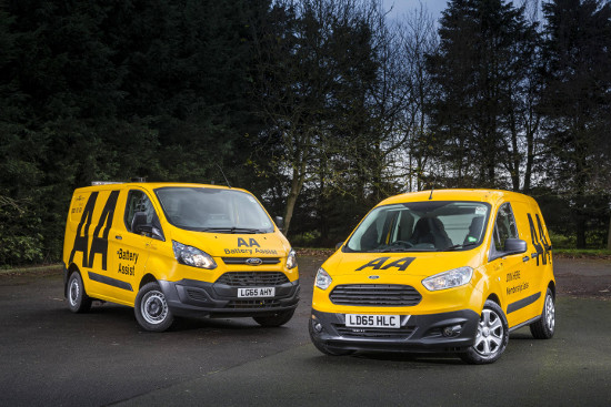 AA Ford Transit Custom and Transit Courier