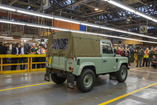 Land Rover Defender Heritage 90 Soft Top