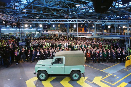 The last ever Land Rover Defender