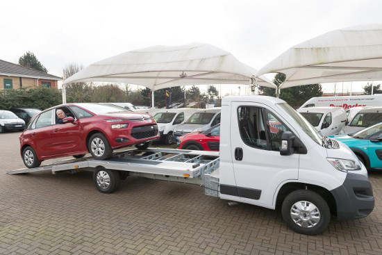 Citroen Relay Car Transporter