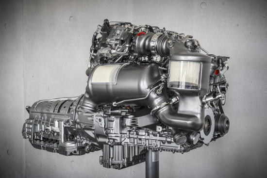 Mercedes-Benz's new OM654 diesel engine