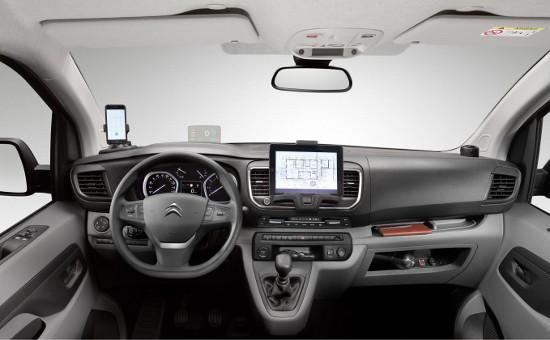 New 2016 Citroen Dispatch interior
