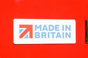 Vauxhall Made in Britain badge