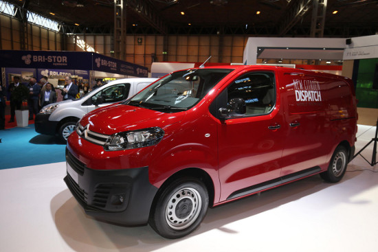 New Citroen Dispatch at CV Show