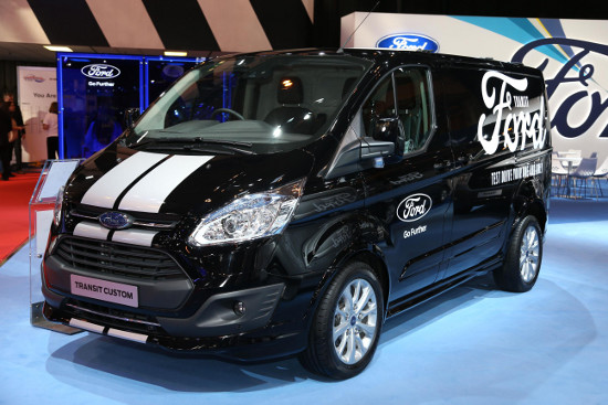 Ford Transit Custom at CV Show 2016