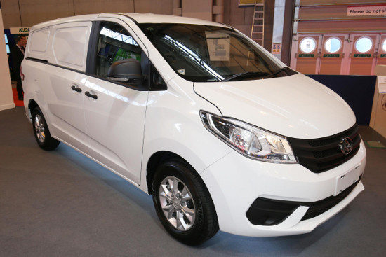 The LDV G10 van at CV Show 2016