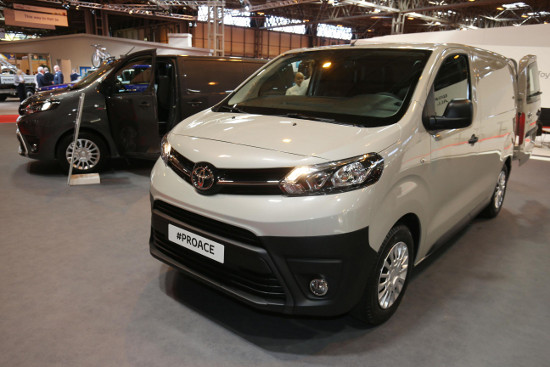 New Toyota Proace at CV Show 2016
