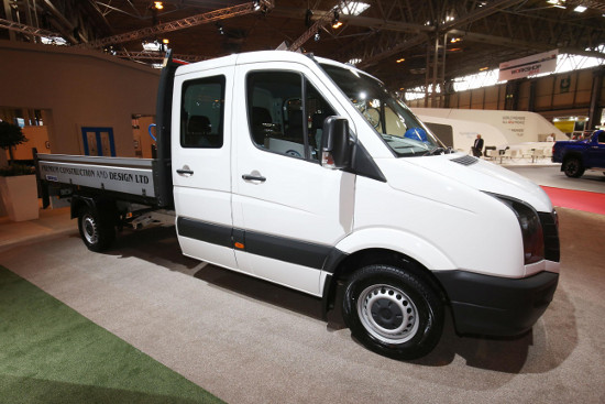 Volkswagen Crafter Tipper conversion