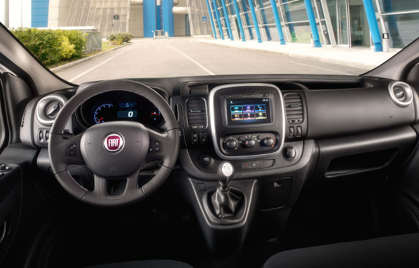 Fiat Talento cab interior