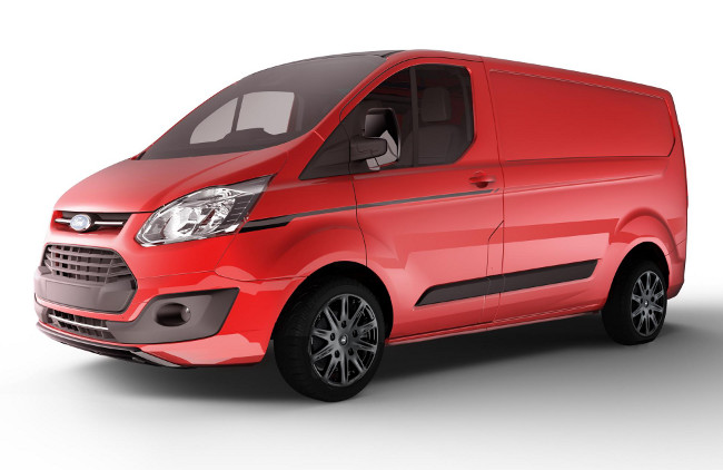 Ford Transit Custom Colour Edition