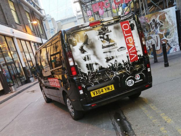 Vauxhall Vivaro on Tour