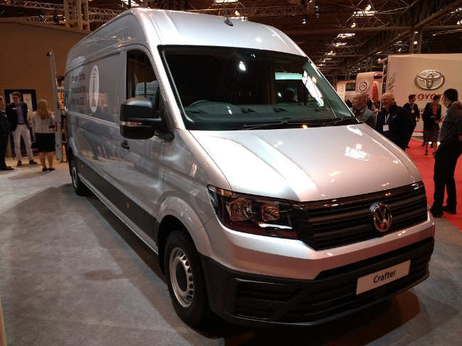 The new Volkswagen Crafter