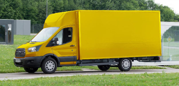 Deutsche Post StreetScooter Ford Transit electric van
