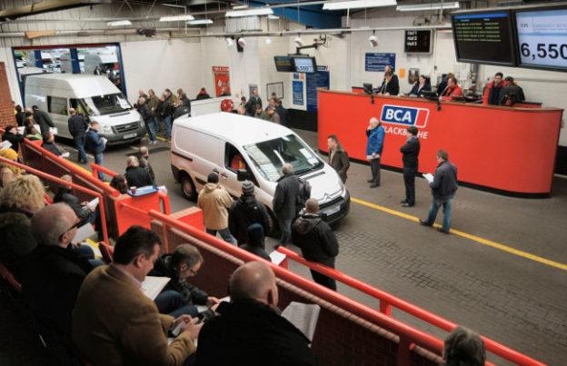 BCA used van auction June 2017