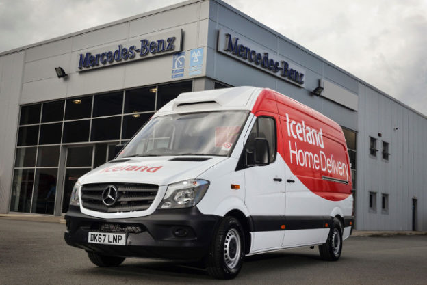 Iceland's 1000th Mercedes-Benz Sprinter