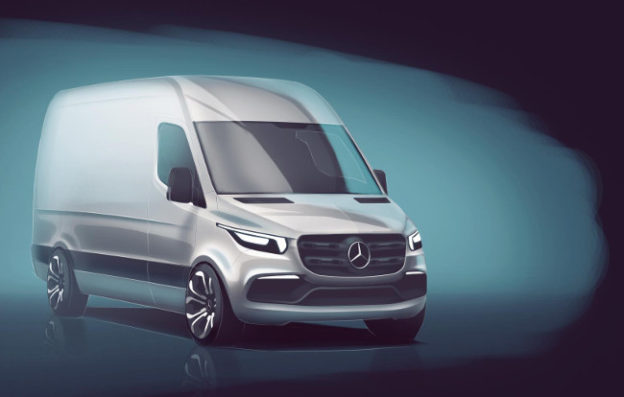 2018 new Mercedes-Benz Sprinter