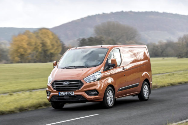 New 2018 Ford Transit Custom