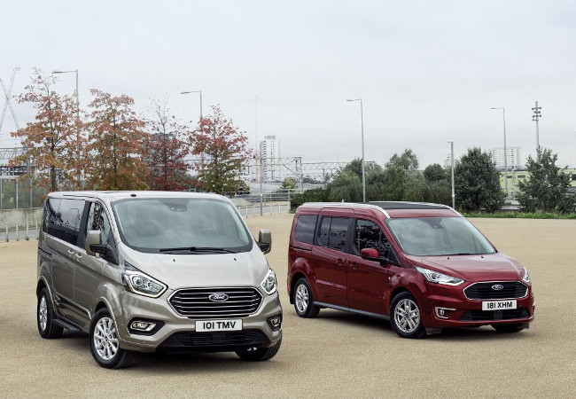 Ford Tourneo Custom and Tourneo Connect