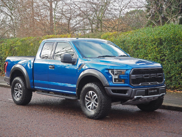 Ford F-150 Raptor now available in UK-spec right-hand drive | vanrental.co.uk blog