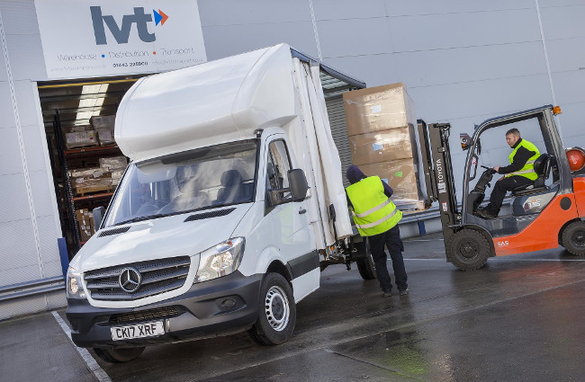 LVT Transport Luton with 1 curtainside